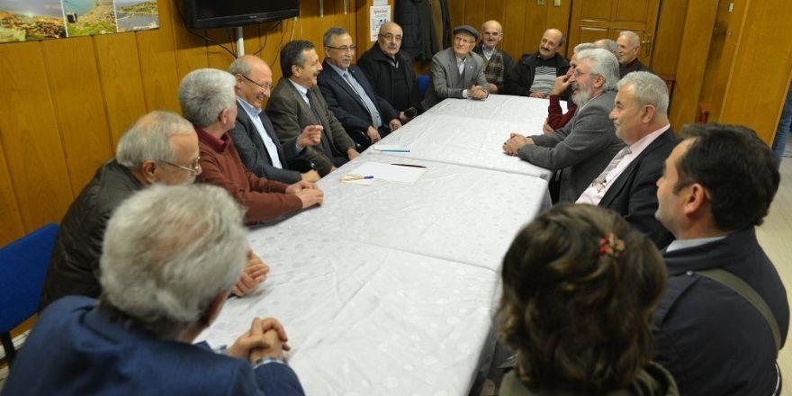 Başkan Ataç'ın ziyaretleri