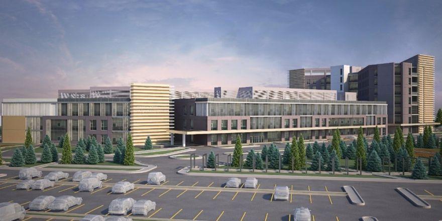 Giresun'da 350 yataklı hastanenin inşaatına başlanıldı