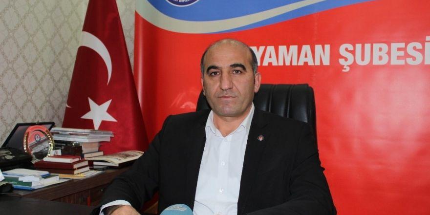 Eğitim Bir-Sen Adıyaman Şube Başkanı Ali Deniz'den 28 Şubat açıklaması