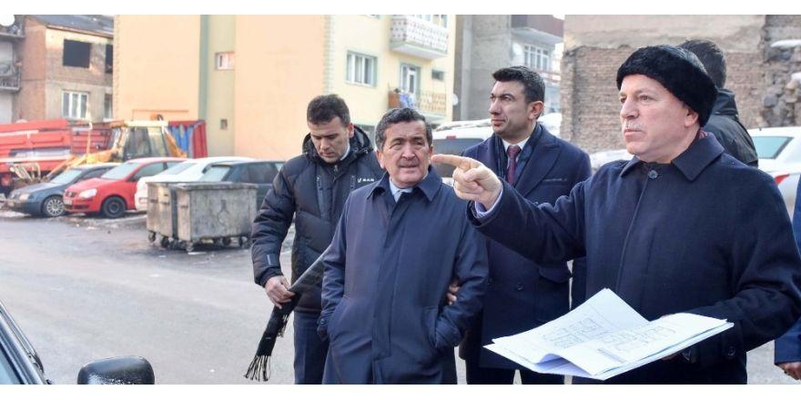 Başkan Sekmen'den kentsel dönüşüm mesaisi
