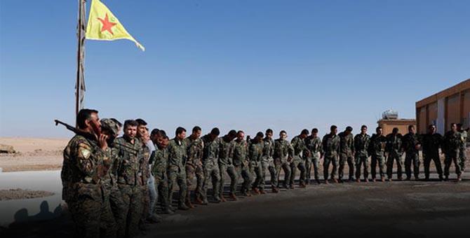 Türkiye Sınırında Skandal: YPG Tören Yaptı