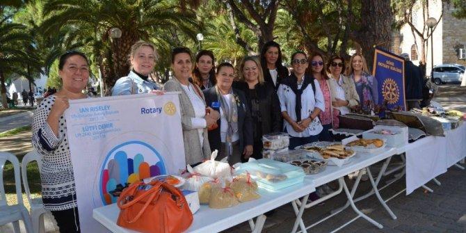 Söke Rotary'den hastane yararına kermes