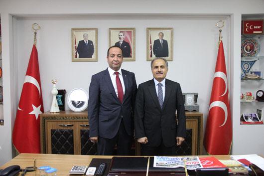 Pendik Kaymakamı İlhan Ünsal'dan MHP Pendik'e Ziyaret