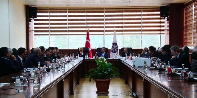 ARÜ Başkanlığında 2. ÜNİDAP toplantısı gerçekleştirildi