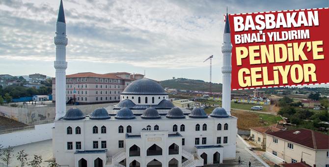 Başbakan Binali Yıldırım 15 Ekim 2017'de Pendik'e Geliyor