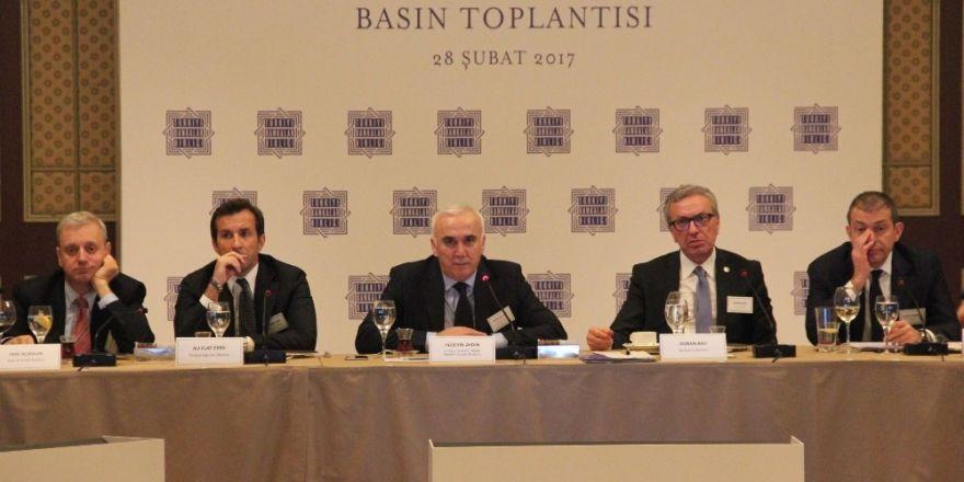 """TBB Başkanı Aydın: """"Sektör olarak büyümeye daha fazla destek olmaya çaba sarf ediyoruz"""""""