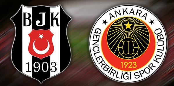 Gençlerbirliği Beşiktaş Maçı Geniş Özeti İzle 2-1