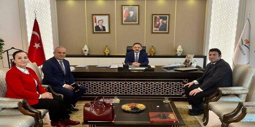 Başkan Güneş,Ankara ziyaretlerine devam ediyor