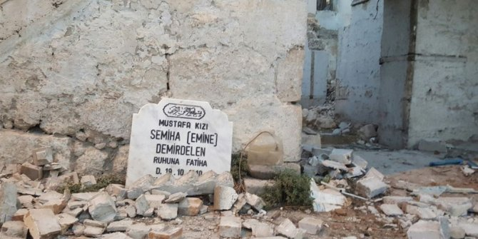 Yaptırdığı mezar taşı ölümünden sonra evinden çıktı