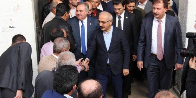 """Bakan Lütfi Elvan: """"Bugüne kadar yolumuza çıkan çetelerden asla korkumuz olmadı"""""""