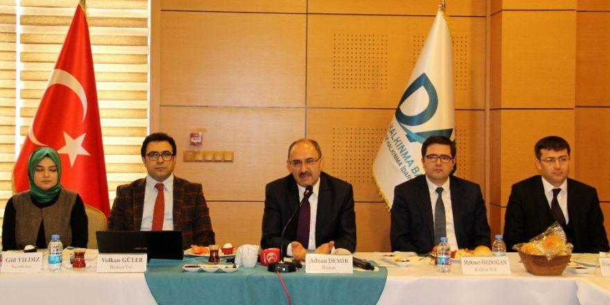 DAP bilgilendirme toplantısı yapıldı