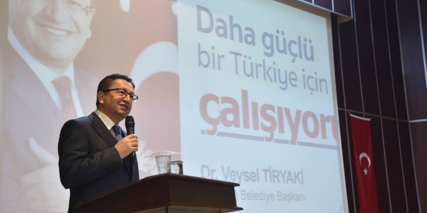 Altındağ Belediye Başkanı Tiryaki'den 'ağaç dikin' çağrısı