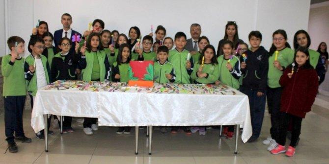 Kardelen Koleji öğrencilerinin LÖSEV'e destek çalışmaları büyük ilgi gördü