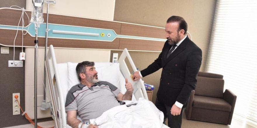Başkan Doğan'dan Milletvekili Çakır'a geçmiş olsun ziyareti