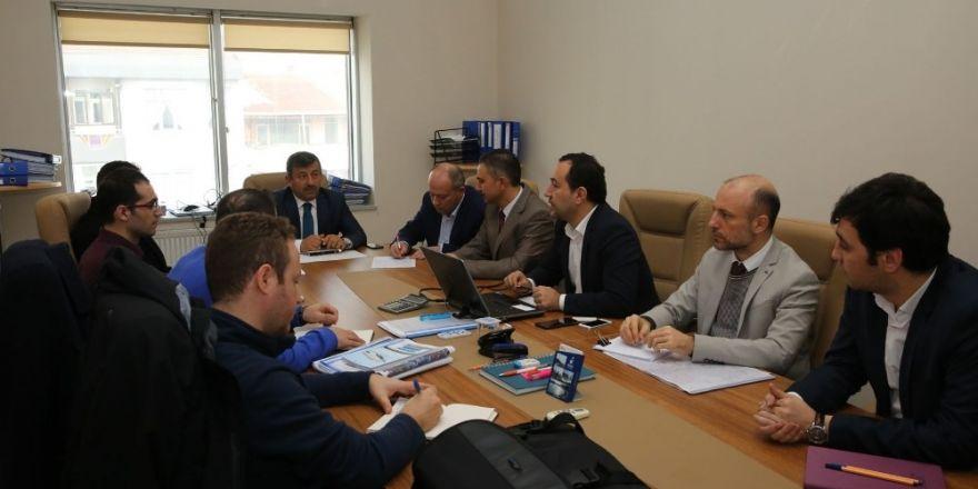 Başkan Karabacak, Metro projesini yetkililerle konuştu
