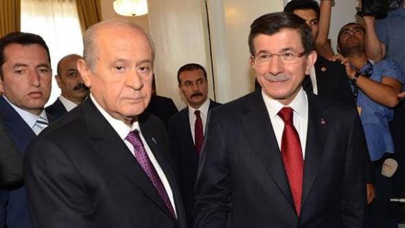 Devlet Bahçeli Ahmet Davutoğlu'na Ne Dedi