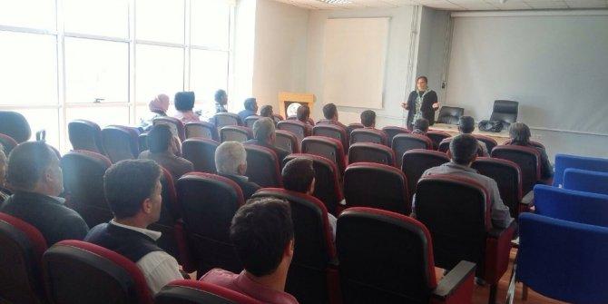 Van'da 'İş Sağlığı ve Güvenliği' eğitimi