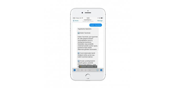 Türkiye'nin ilk yapay zeka temelli hukuk Chatbot'u yayında