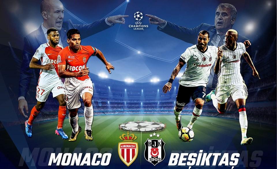 Monaco Beşiktaş Maçı Saat Kaçta, Hangi Kanalda?