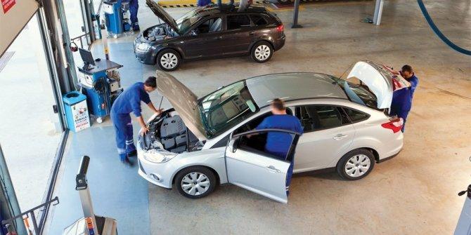 Standart dışı plakalar ve sürücünün görüşünü engelleyen cam hasarları muayeneden geçemeyecek