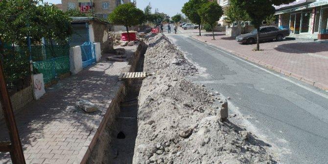 Başkan Karayol ilçede alt yapı çalışmalarını inceledi
