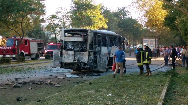 Mersin'de Polis Aracına Bombalı Saldırıyı Kim Yaptı
