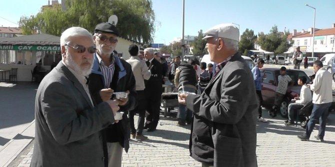 Kulu'da vatandaşlara aşure ikramı