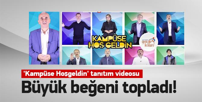 Ak Parti Gençlik kollarından 'Kampüse Hoşgeldin' tanıtım videosu