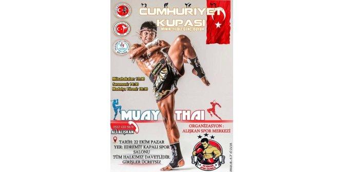 Edremit'te Muay Thai fırtınası