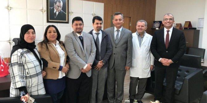 Bahreyn Sağlık Bakanlığı'ndan ERÜ'ye İşbirliği Ziyareti