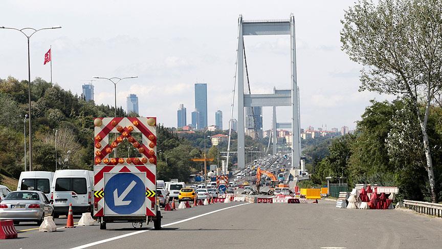 FSM Köprüsü'nde çalışma ne zaman bitti mi?