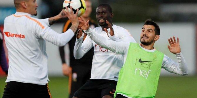 Galatasaray, derbi hazırlıklarını sürdürdü