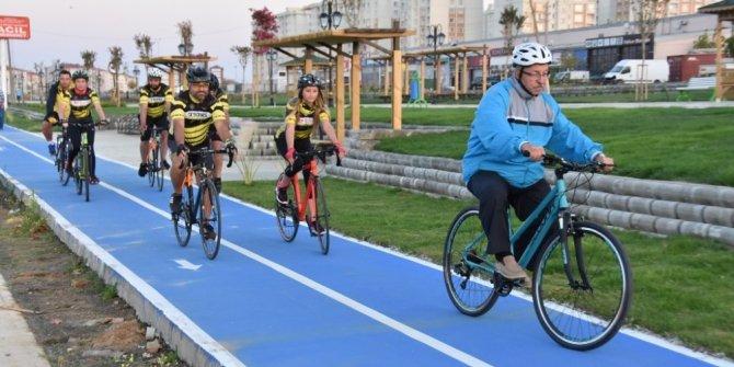 Çorlu Bülent Ecevit Parkı açıldı