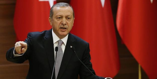 Cumhurbaşkanı Erdoğan'dan Rakka'daki Öcalan Posterine Tepki