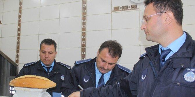 Tekkeköy'de fırın denetimi