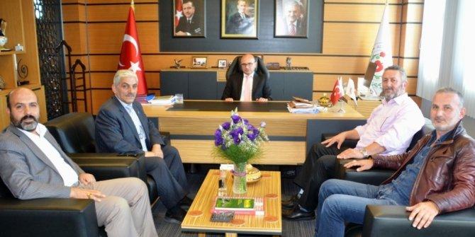 Erbakan Vakfı'ndan Oral'a ziyaret