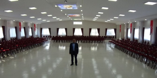 Demirciköy'e çok amaçlı salon