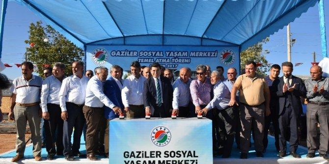 Gaziler Mahallesi'ne Sosyal Yaşam Merkezi geliyor