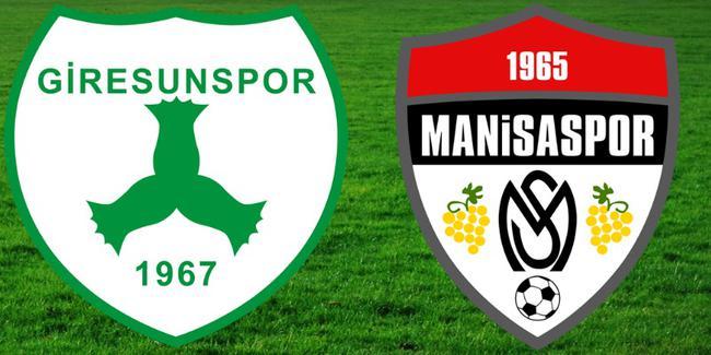 Giresunspor Manisaspor Maçı Canlı İzleme Linki