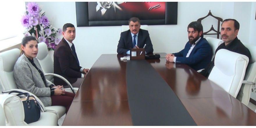 Battalgazi Esnaf ve Sanatkarlar Odası Yönetimi, Başkan Gürkan'ı ziyaret etti