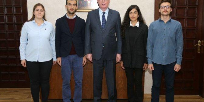 TGB üyeleri Başkan Kurt'u ziyaret etti
