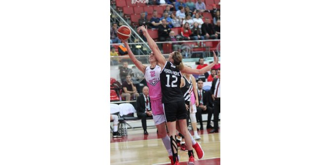 Bilyoner.com Kadınlar Basketbol Ligi: AGÜ: 64 - Beşiktaş: 50