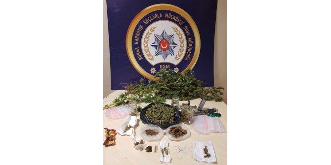 Bursa'da uyuşturucu operasyonunda 7 gözaltı