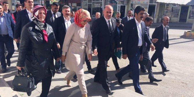 Milletvekili Taşkesenlioğlu, Aşkale'de incelemelerde bulundu