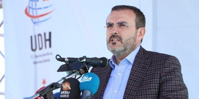 """AK Parti Sözcüsü Ünal: """"İstişareye riayet etmeyenler bu davanın bir neferi olduğunu söyleyemezler"""""""