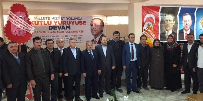 AK Parti Hanönü 6.Olağan İlçe Kongresi yapıldı