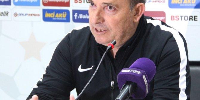 Boluspor - Balıkesir Baltok maçının ardından
