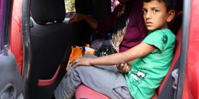 Antalya'da bisiklet süren çocuğa köpek saldırdı
