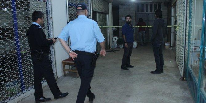 Tütüncüler pazarında silahlı saldırı: 1 ölü
