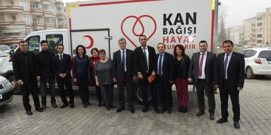 Tekirdağ İl Sağlık Müdürlüğü personeli kan bağışında bulundu